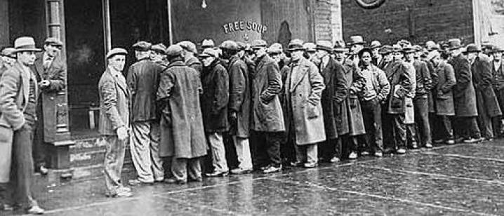arbetslösa i kö